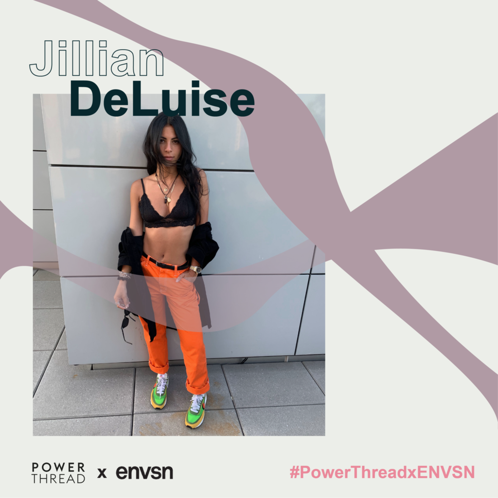 Power Thread X ENVSN with Jillian DeLuise