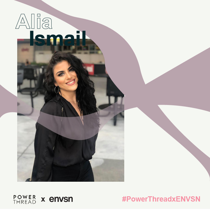 Power Thread X ENVSN with Alia Ismail